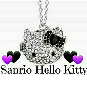 💜Sanrio Hello Kitty🖤Nwot Pendant Locket